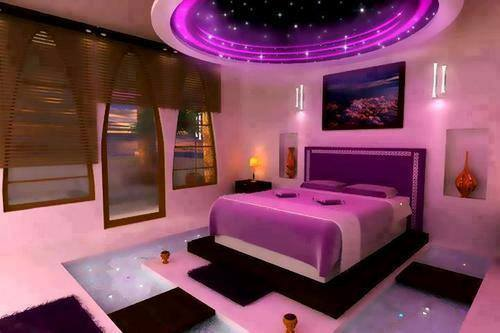 Illuminazione rendere più sexy la camera da lettorenderrender