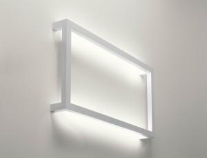 Lampada design da muro