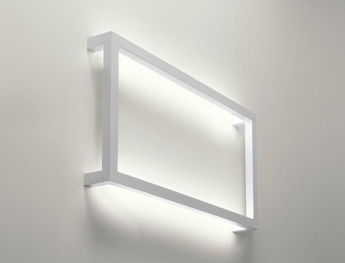 Lampada design da muro per un arredamento soft lampade - Lampade da muro design ...