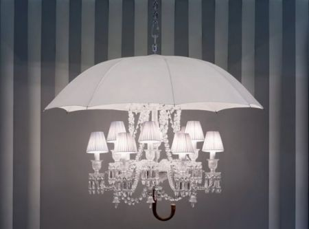 Philippe starck per baccarat: la lampada di design stilosa