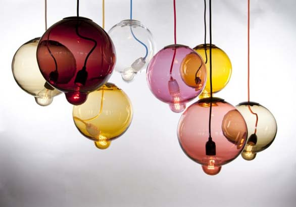 lampada design colorata